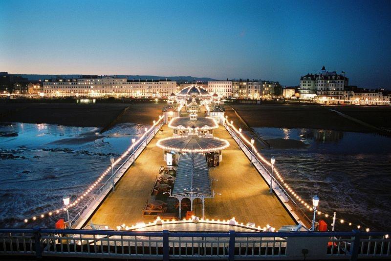 Eastbourne Pier Heritage & Traditional Street Light Manufacturer MSD Lighting